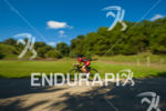 Female age group athlete cruising through some of the scenic…