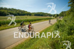 Athletes cruising through the cornfields on some of the scenic…