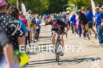Age grouper enjoying the crowd support on the bike course…