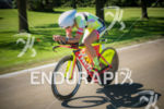 Linsey Corbin showing her new aero form on the bike…