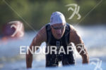 Henri Schoeman completes the swim leg at the 2018 Beijing…