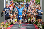 Patrick Lange (GER) at the finish of the 2018 Ironman…