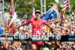 Daniela Ryf (SUI) at the finish of the 2018 Ironman…