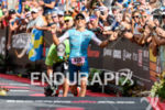 Anne Haug (GER) at the finish of the 2018 Ironman…
