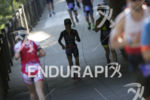 Participants on the run course in downtown Santa Rosa at…