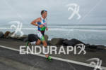 Chris McDonald on run at the  Ironman 70.3 California on…